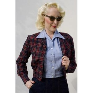 Freddie's of Pinewood Tartan Jacket